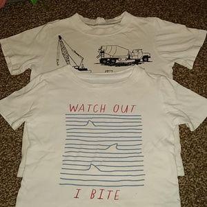 4T boys t-shirt x 2